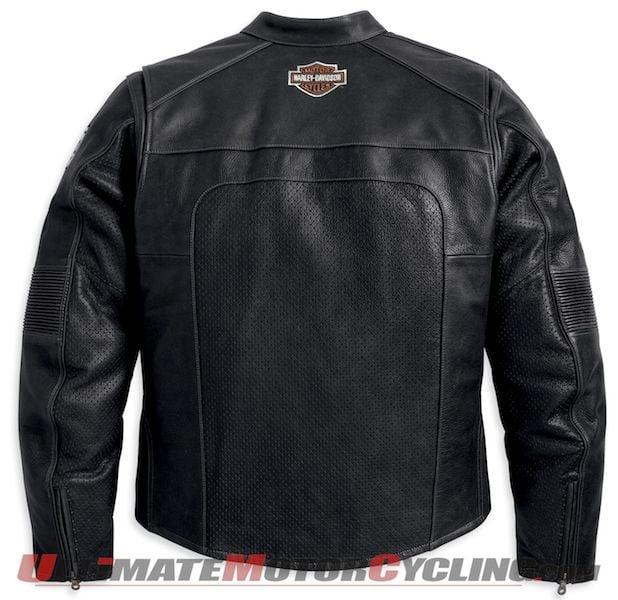 Harley Releases Men's Regulator Perforated Leather Jacket