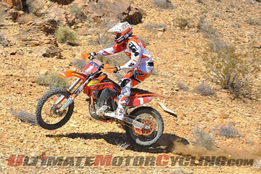 KTM's Caselli Wins AMA Hare & Hound, Round 4
