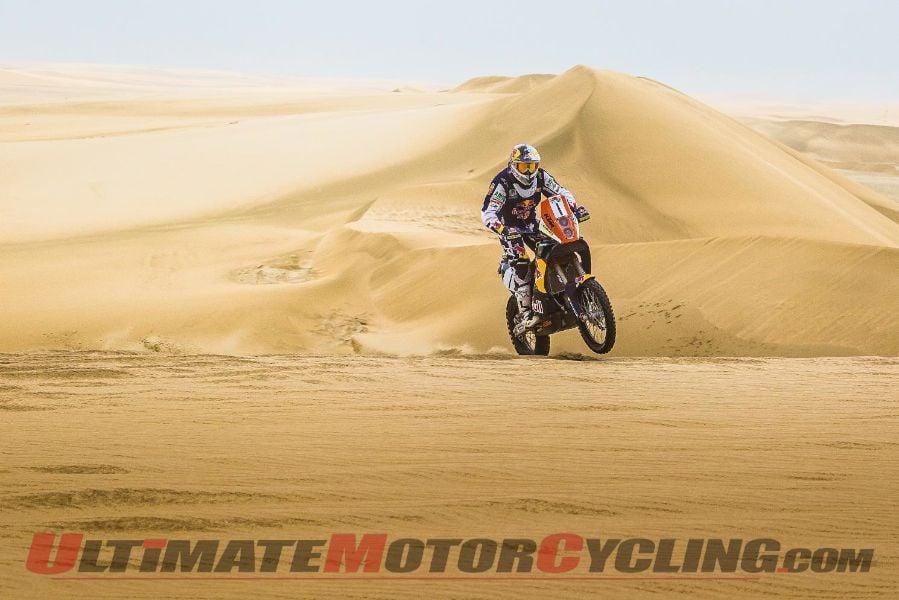 KTM's Coma Wins 2nd Consecutive Sealine Rally