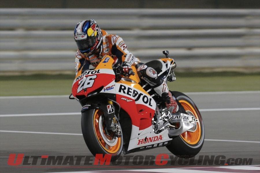2013 Qatar MotoGP FP3   Honda's Marquez Fastest Again