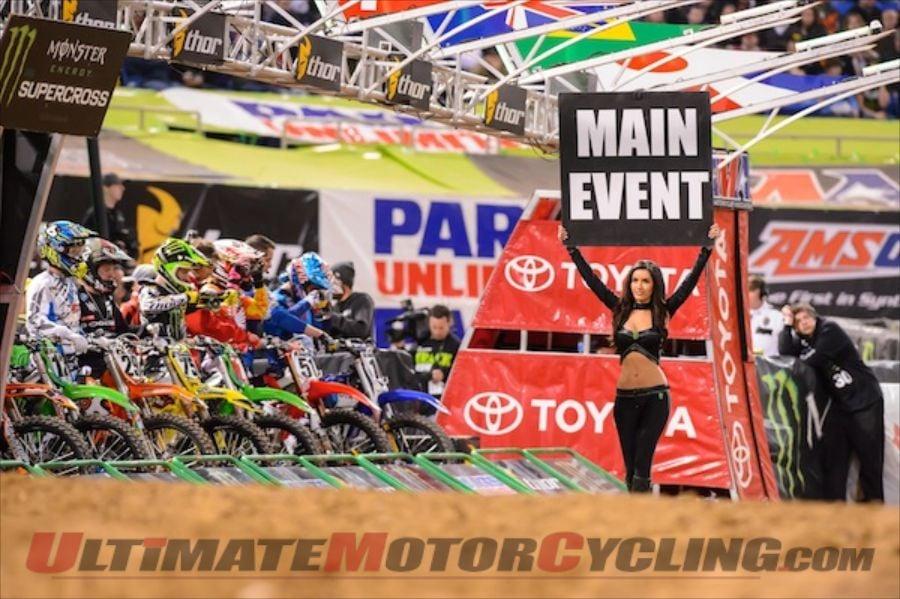 2013 Minneapolis AMA Supercross | Results