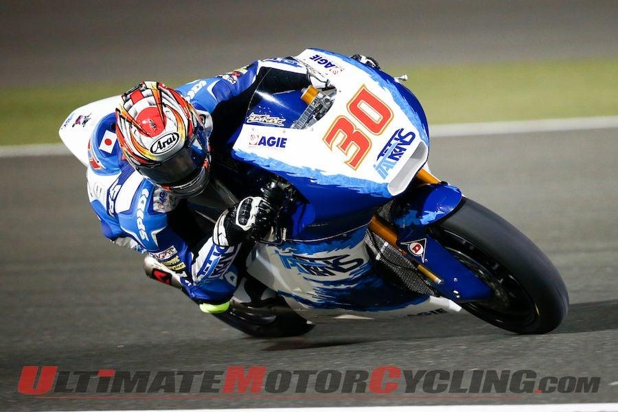 Italtrans Racing Team's Takaaki Nakagami (Moto2)