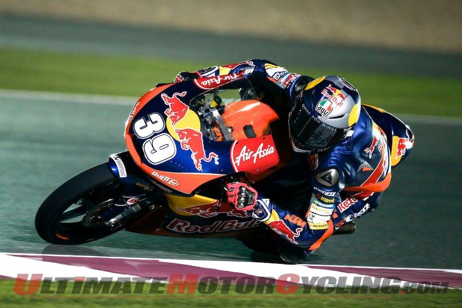 Red Bull KTM Ajo's Luis Salom (Moto3)