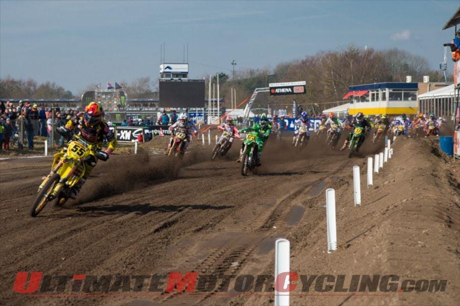 Suzuki's Kras & Kawasaki's Krestinov Share Wins at Valkenswaard MX3