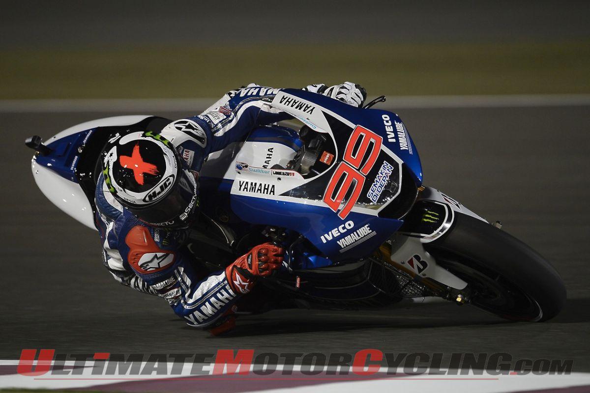 2013 Qatar MotoGP | Yamaha's Jorge Lorenzo Photo Gallery