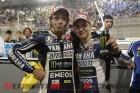 Yamaha's Valentino Rossi & Jorge Lorenzo