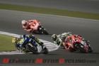 Yamaha's Valentino Rossi at 2013 Qatar MotoGP