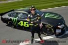 Yamaha's Valentino Rossi does NASCAR