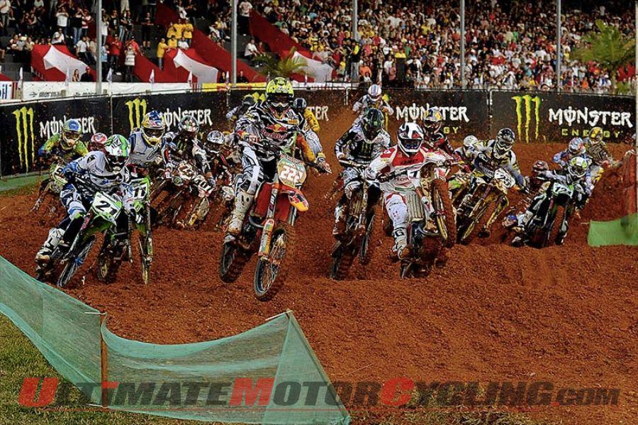 FIM Motocross Heads to Beto Carrero in Brazil
