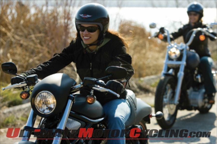 Harley-Davidson Highlights Women Riders
