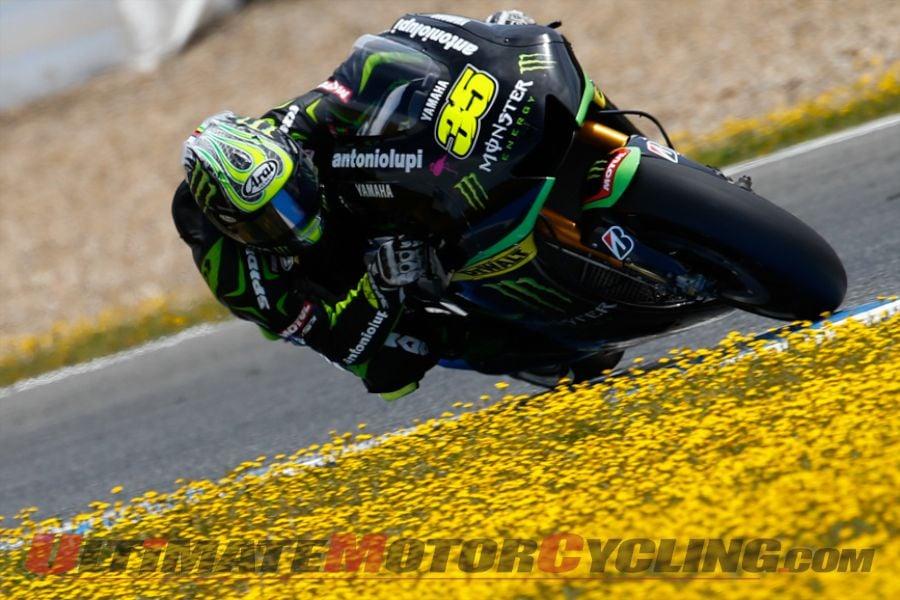 Honda's Marquez Tops Crutchlow in Jerez MotoGP Test