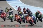 Start of the Jerez MotoGP