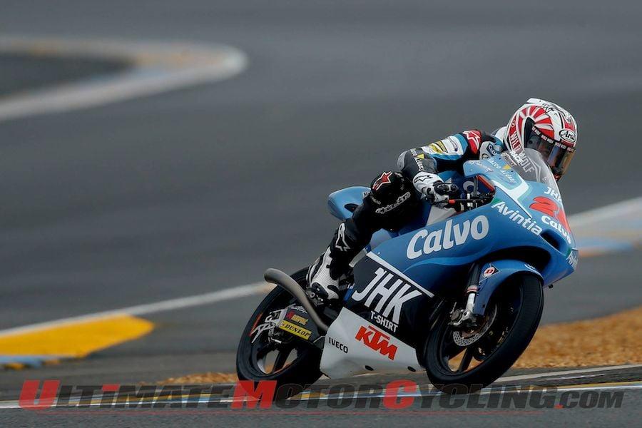 2013 Le Mans Moto3 | Results