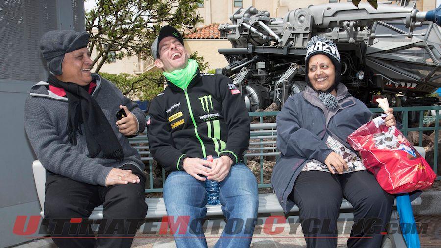 Lorenzo & MotoGP Stars Visit Disneyland Paris