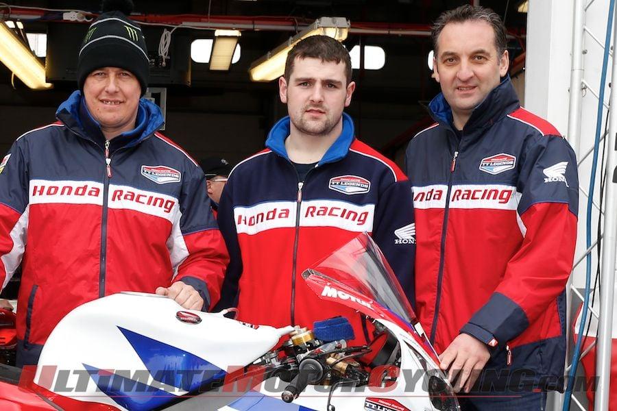 McGuinness, Rutter & Dunlop Ready for Isle of Man TT