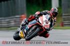 Aprilia Racing's Sylvain Guintoli