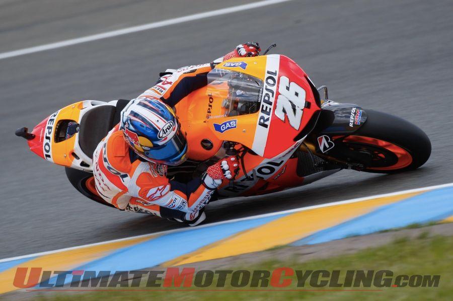 Le Mans MotoGP | Pedrosa Leads Marquez & Rossi in FP2