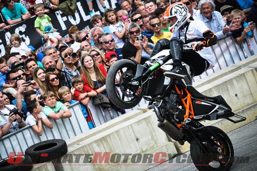 KTM Factory Stunt Rider Rok Bagoros
