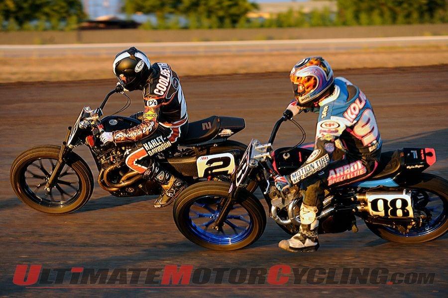 Stockton 99 AMA Pro Flat Track | Harley Report