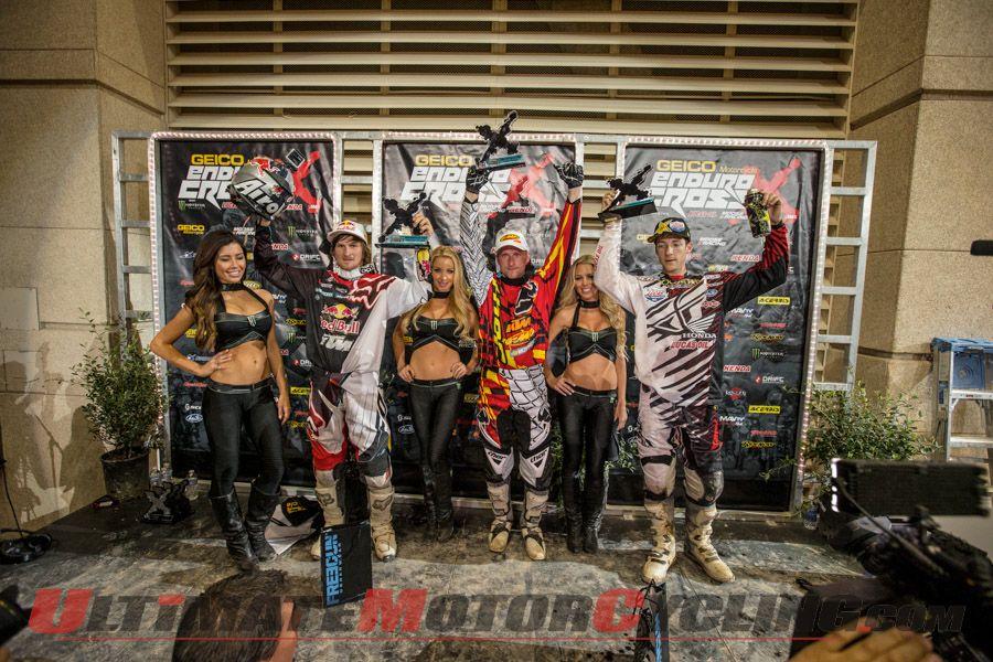 KTM's Brown Wins AMA EnduroCross Season Opener in Vegas