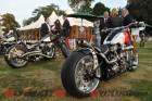 Team Ichiban Softail custom Harley-Davidson & Charging Bull custom Harley-Davidson both designed and built by Charlie Charlie Stockwell - Warr's Harley-Davidson King's Road Customs. (credit Marianne Logica, MLoFoto)