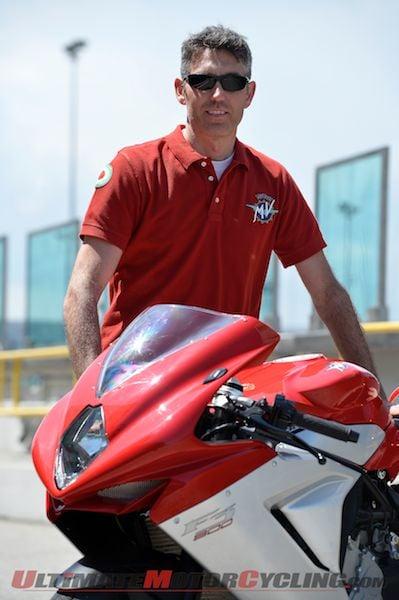 Brian Gillen of MV Agusta