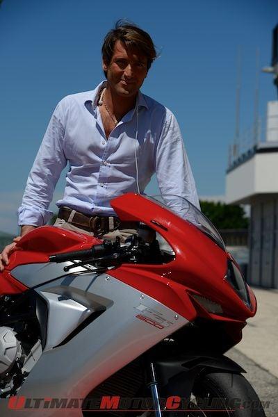 MV Agusta's CEO Giovanni Castiglioni