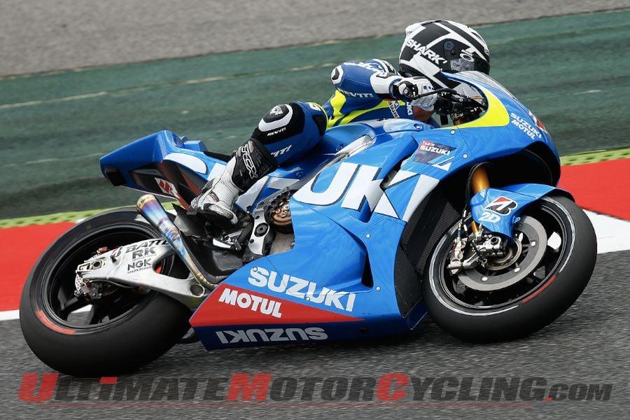 Suzuki Joins Catalunya MotoGP Test; Lorenzo Leads