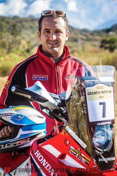 Honda's Pizzolito Takes Lead in Desafio Ruta 40 Rally