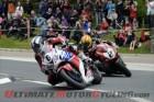 Honda TT Legends' Michael Dunlop leads Honda/Wilson Craig's Cameron Donald