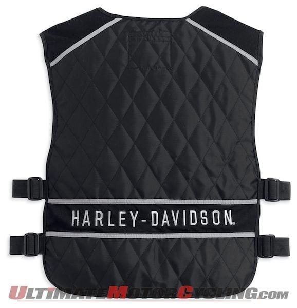 Harley-Davidson Releases Adjustable Hydration Vest for Cooling
