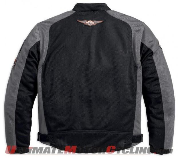 Harley Releases Bar & Shield Logo Mesh Men's Jacket