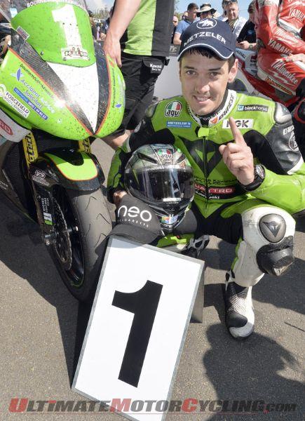 Kawasaki's Hillier Takes Debut TT Victory in Lightweight TT