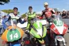 2013 Lightweight TT podium: Harrison, Hillier, Cummins