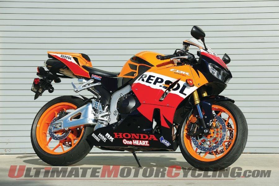 2013 Honda CBR600RR Test   Fluidity in Motion