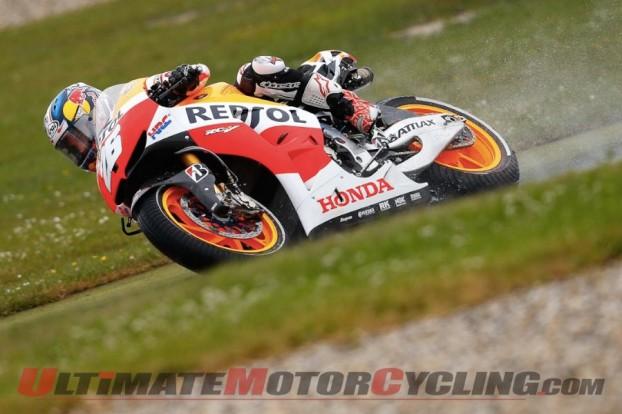 Lorenzo Breaks Collarbone; Marquez Tops Assen MotoGP FP2