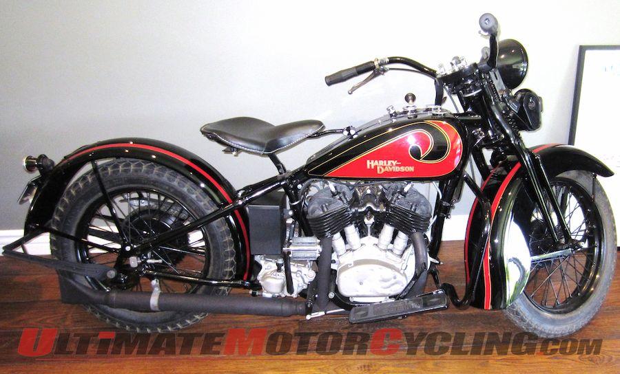 McQueen's 1931 Harley-Davidson VL 74