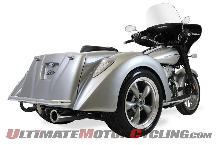 Motor Trike: IRS Conversion for Yamaha Stratoliner Family