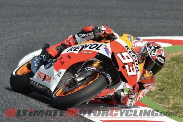 Pedrosa Breaks Lap Record en Route to Catalunya MotoGP Pole