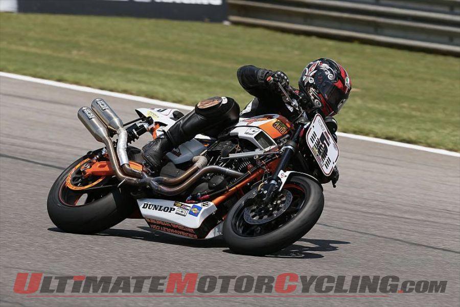 Rapp Dominates Barber AMA Pro Vance & Hines Harley-Davidson Race
