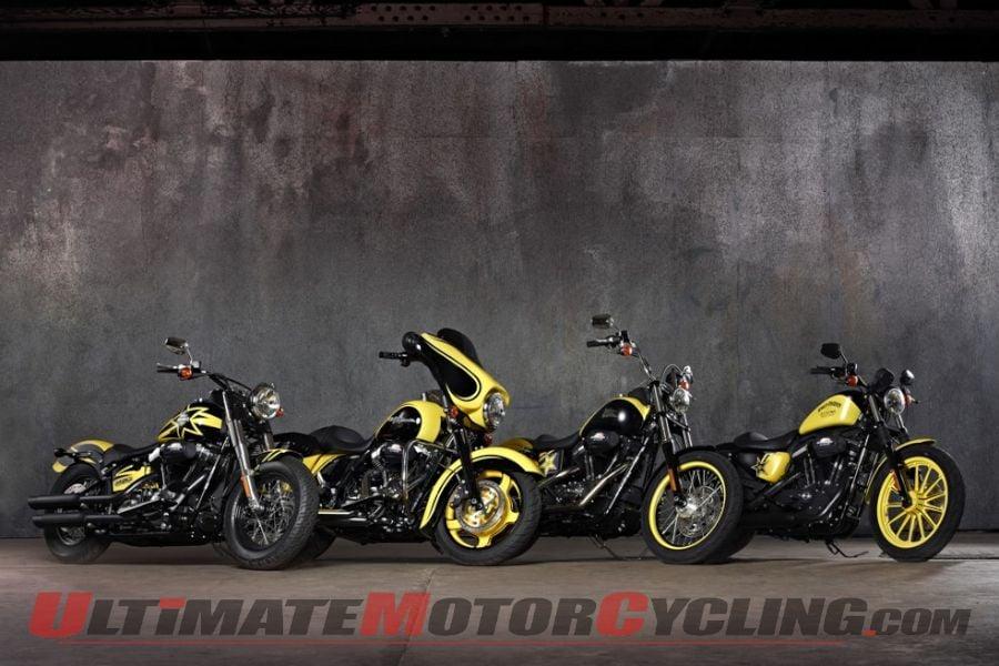 Rockstar Energy Harley-Davidson motorcycles