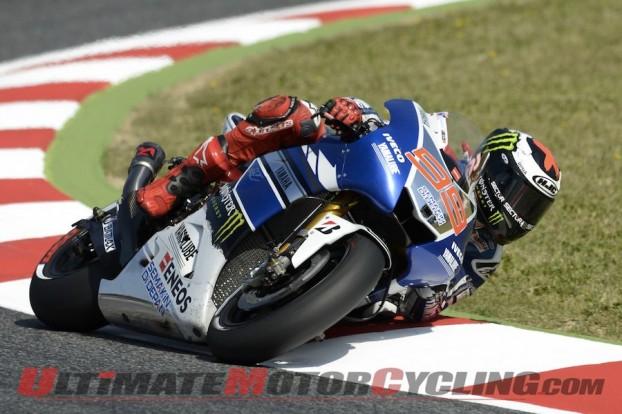 Valentino Rossi Leads Friday Practice | Catalunya MotoGP