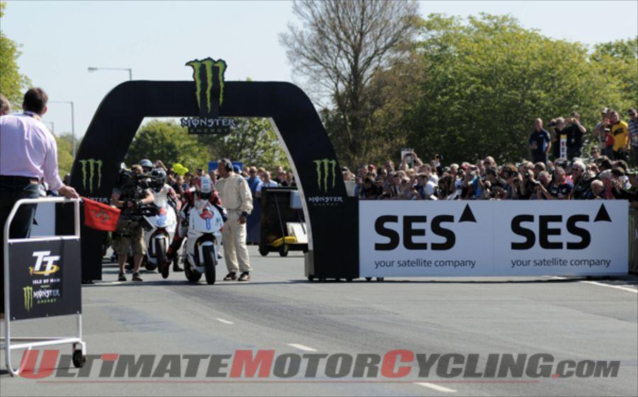 MotoCzysz's Rutter Wins 2013 SES TT Zero with Record Lap