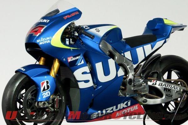 Official: Suzuki To Return to MotoGP in 2015