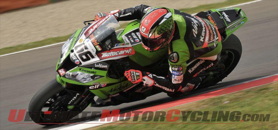 Kawasaki's Tom Sykes