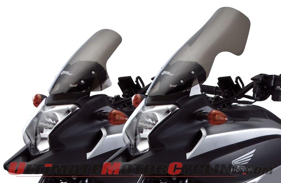 Zero Gravity Releases Honda NC700X Windscreens