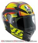 AGV Pista GP Sun & Moon (Valentino Rossi) LE Helmet