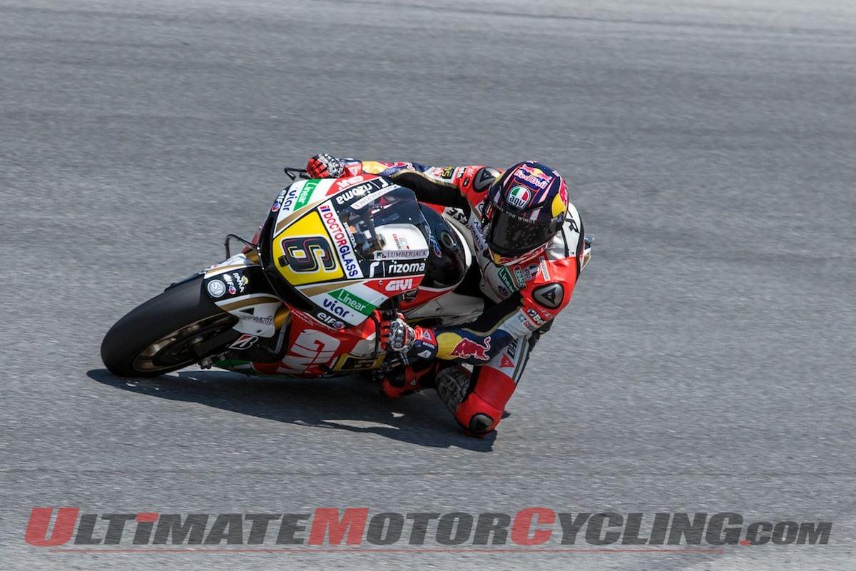 Laguna Seca Qualifying Results | Bradl Takes Maiden Pole