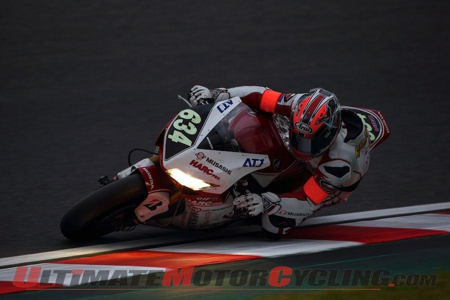 MuSASHi RT HARC-PRO Honda's Takumi Takahashi