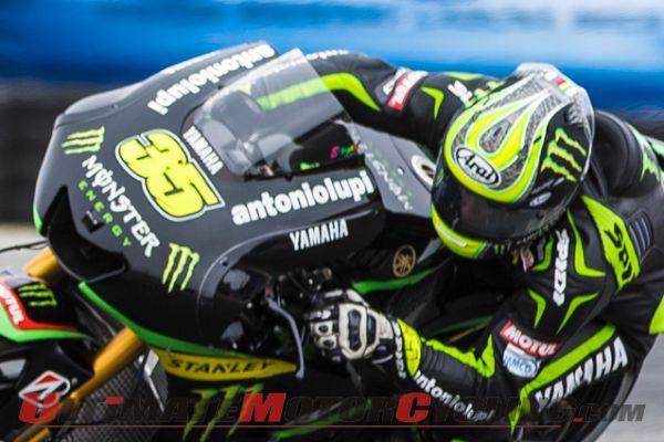 Laguna Seca MotoGP | Crutchlow Leads Rossi in FP1